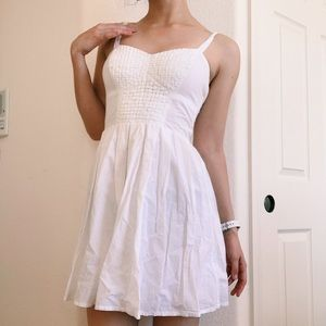 Vintage French Connection White Sundress Dress